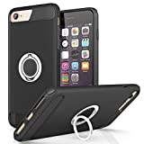 REALIKE iPhone 8 Cover, Aemotoy Protective Armor Bumper W 360 Degrees Ring Kickstand Shockproof Defender Case For iPhone 8 - iPhone 7
