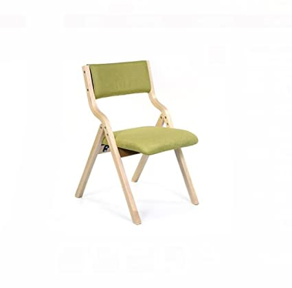 Charmant Fold Up Chairs Modern Home Simple Solid Wood Folding Casual Chair Creative  Nordic Adult Backrest Dinette