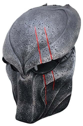 Wolf 5 Predator Mask Full Face Wire Mesh Mask for Airsoft , Bb Gun and Paint Ball -