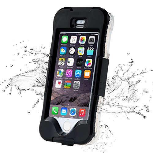 iPhone 5/5S/SE Case, iThrough 20ft(6M) Swimming Diving iPhone 5/5S waterproof Underwater Case, Dust, Snow, Shockproof, Heavy Duty Full Sealed Protection Case for iPhone 5/5S/SE