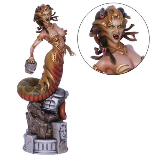 Entertainment Earth FFG Greek Myth Medusa by Wei HO 1: 6 Scale Resin Statue ()