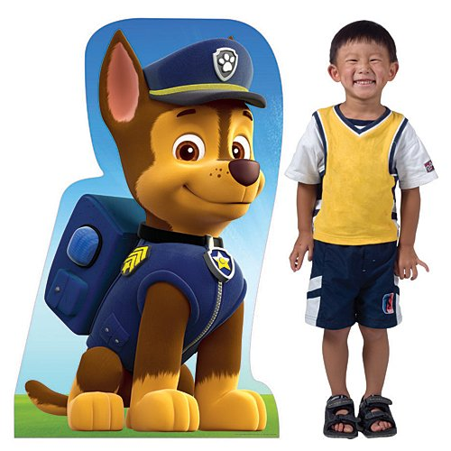 3 ft. 5 in. Paw Patrol Chase Cardboard Cut Out Standup Photo Booth Prop Background Backdrop Party Decoration Decor Scene Setter Cardboard Cutout]()