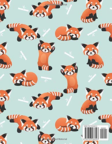 2019-2023 Planner: Red Panda 5 Year Planner with 60 Months ...