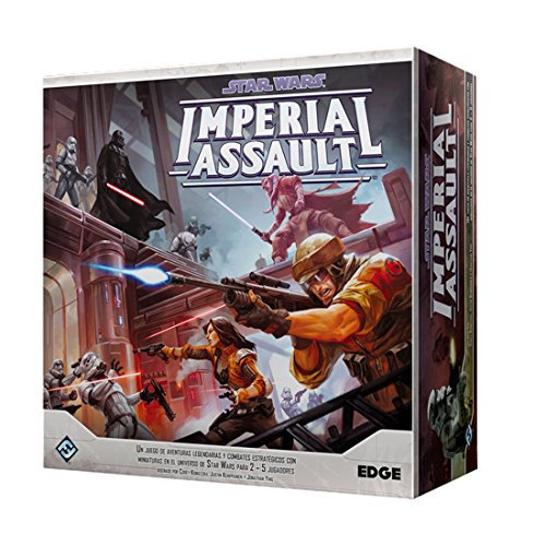 Fantasy Flight Games- Star Wars Imperial Assault (Edge Entertainment EDGSWI01)