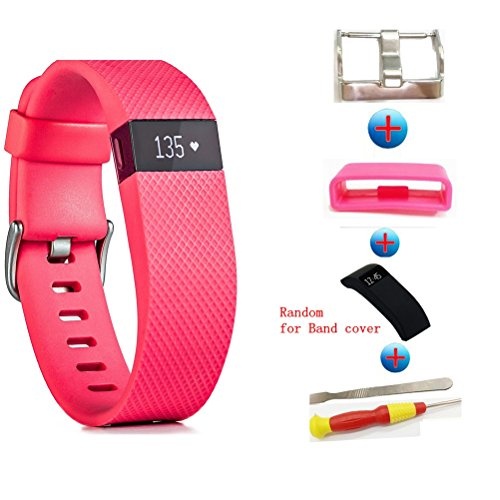 Sibode for Fitbit Charge HR Band,Replacement Accessories Strap for Fitbit Charge HR/Charge HR/Fitbit Charge HR Accessories/Fitbit Charge HR 1/Charge HR Fitbit, Large and Small