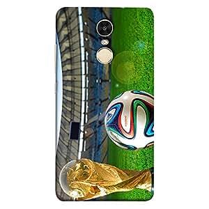 ColorKing Xiaomi Redmi 5 Football Multicolor Case shell cover - Fifa Cup 11