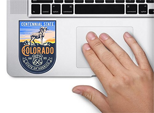State animal Colorado day 3.5x2.5 inches color sticker animal state decal die cut vinyl - Made and Shipped in USA