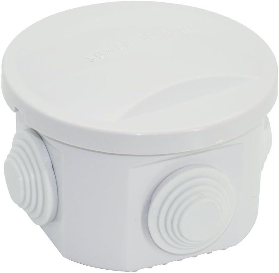 anticorrosivo antiest/ático completamente no t/óxico Caja el/éctrica de ABS buen aislamiento caja de conexiones el/éctricas a prueba de polvo IP65