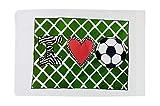 Standard Pillowcase - I ''Heart'' Soccer