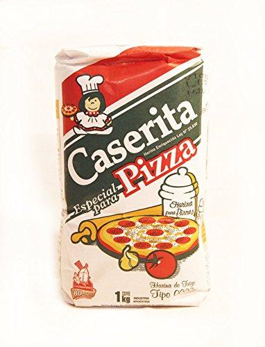 Harina de Trigo CASERITA, Especial Pizza. 1 Kg. 100% Producto Argentino: Amazon.es: Alimentación y bebidas