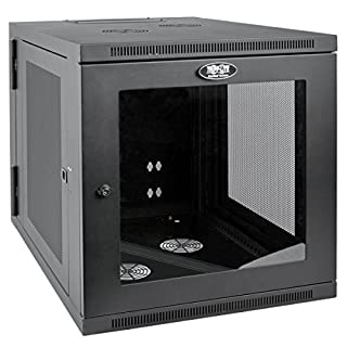 "Tripp Lite 12U Wall Mount Rack Enclosure Server Cabinet with Acrylic Glass Window, Hinged, 32.5"" Deep, UPS-Depth (SRW12US33G) (B017YUBK34) 