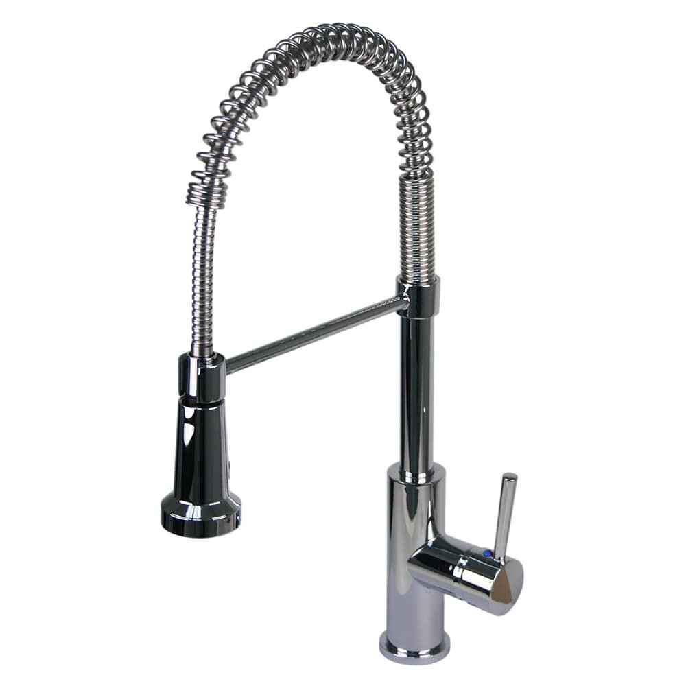 Fontaine Chrome Residential Spring Pull-down Kitchen Faucet ...