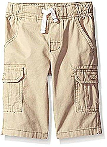Toddler Boys Cargo Shorts Khaki (Carter's Boys' Woven Short 248g370, Khaki, 3T Toddler)