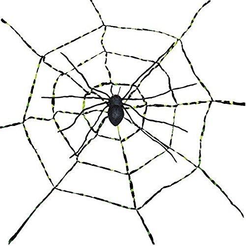 Morris Costumes - Spiderweb With Spider - Spiderweb -