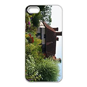 Garden And Flowers Hight Quality Case for Iphone 5s