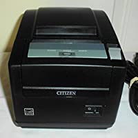 Citizen America CT-S601S3ETUBKP CT-S601 Series POS Thermal Printer with PNE Sensor, Top Exit, Ethernet Connection, Black