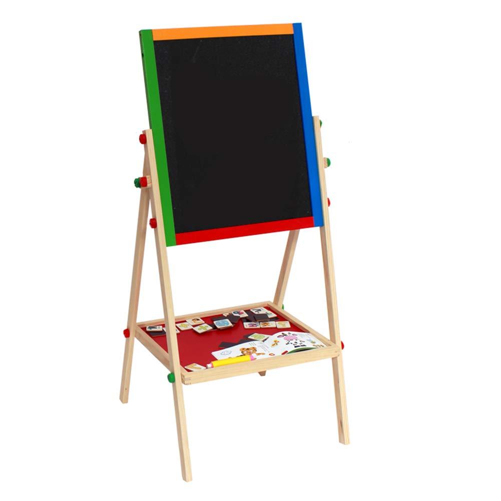 ソリッドウッド両面調整可能な描画ボード子供の描画イーゼル小さな黒板 B07H9ZG71S B07H9ZG71S, WONDERCUBE:810a27d9 --- ijpba.info