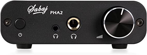 Sabaj Audio PHA2 Portable Headphone Amplifier Black Color