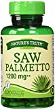 Cheap Nature's Truth Saw Palmetto 1200 mg Capsules, 120 Count