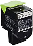 Lexmark 80C1SK0 Black Standard Yield Return Program Toner