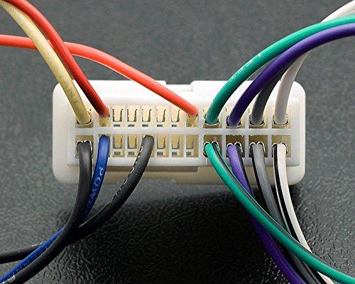 Certains mod/èles //Kia 2004/+ C/âblage fil Harnais connecteur Laisse Loom C/âble adaptateur prise st/ér/éo CARAV 12 014/Adaptateur radio ISO pour Hyundai 2004/+ Certains mod/èles