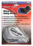 Swing Sock 11 oz. Weighted Golf Warm-Up/Trainer Attaches to Club Head (Fits Irons Only)