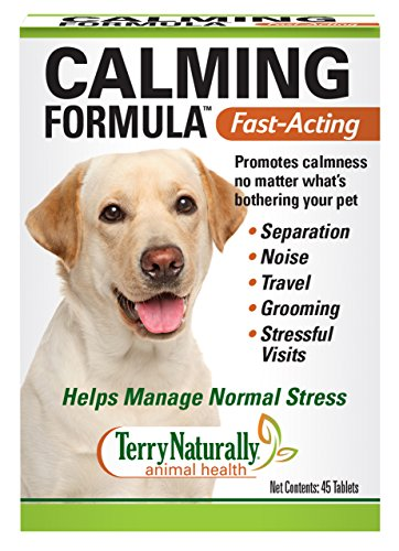 Terry Naturally Animal Health Calming Formula (Canine) - 45 Tablets
