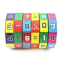 CHoppyWAVE Kids Toys for 1 2 3 4 5 6, Children Kid Maths Cube Early Learning Teaching Developmental Baby Toy Xmas Gift for Kids Toddlers Boys Girls