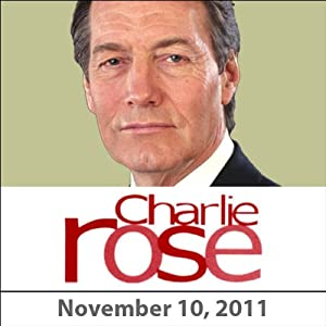 Charlie Rose: Harold Bloom, Stephen Greenblatt, and Michael Boyd, November 10, 2011 Radio/TV Program