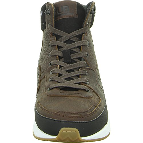 Hub Zone-m High, Sneaker uomo Marrone