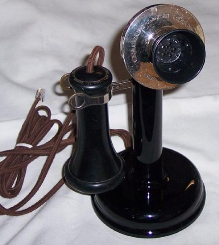 Leich Antique Non-Dial Candlestick Phone