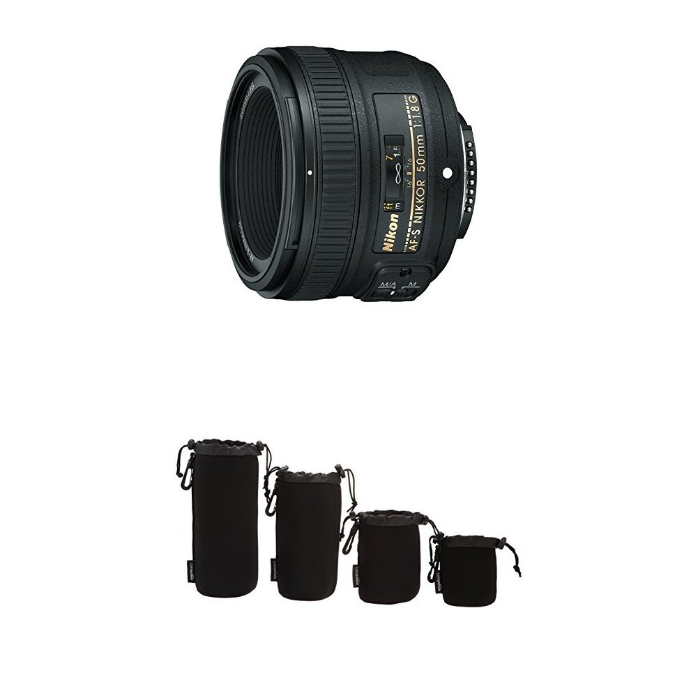 Nikon Af S Fx Nikkor 50mm F 18g Lens With Auto Focus Parts Diagram Where To Get For A D5000 Slr Camera Protective Pouches Water Resistant Photo