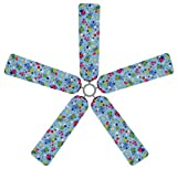Fan Blade Designs Polka Dots Ceiling Fan Blade Covers