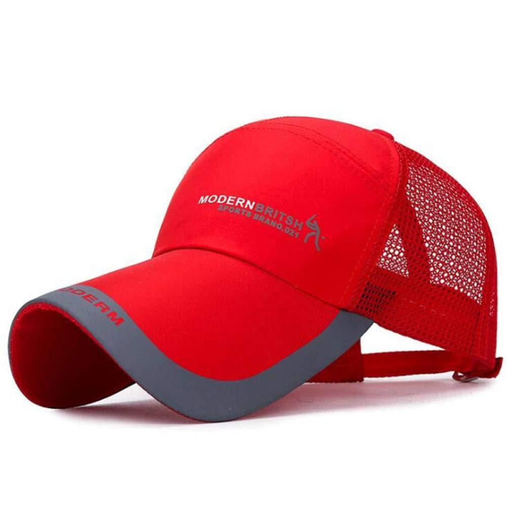 ZSOLOZ Baseball Caps Couple Mesh Breathable Adjustable Baseball Hat Quick-Drying Farbic Comfortable Sunscreen Sun Hat Snapback Hat