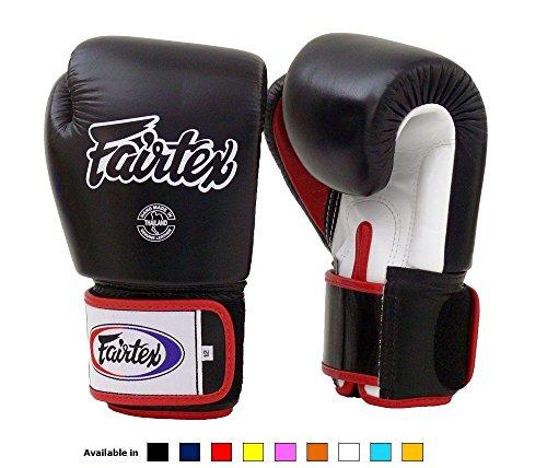xing Gloves BGV1 Black/White/Red Gloves - 12 oz ()