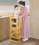 Kids Kitchen Step Stool, Toddler Learning Stool