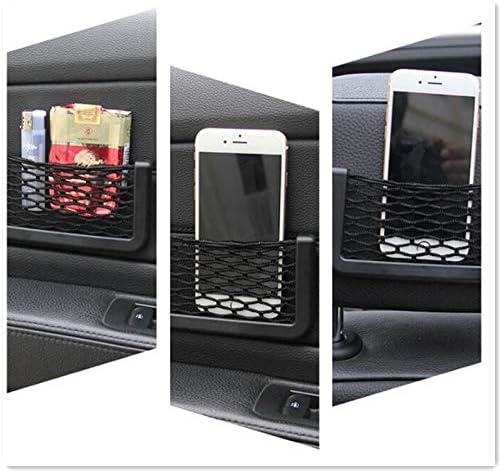 Homeve Filet de Rangement de Voiture en Maille pour Smart Fortwo Renault Clio 2 Seat Leon FR Renault Clio 4 Passat B7 Toyota