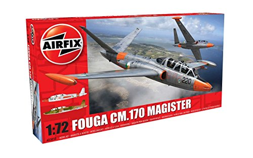 Airfix 1:72 Fouga CM.170 Magister Kit ()