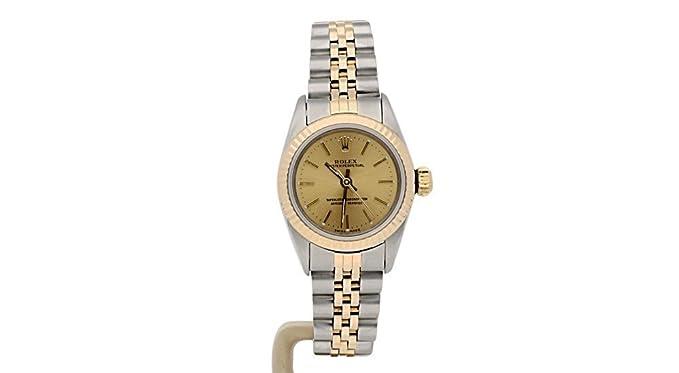 Rolex Oyster 67193 - Reloj de pulsera para mujer, automático, con certificado de autenticidad