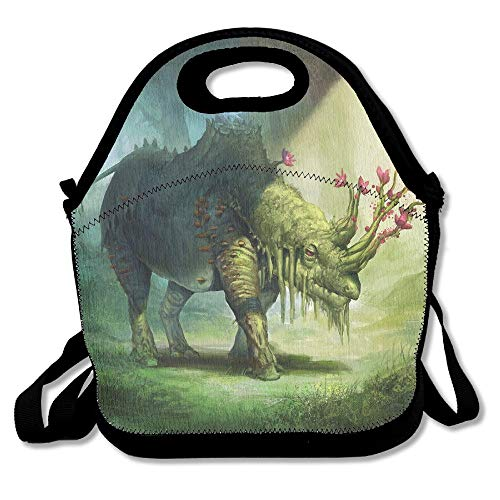 Magic Rhinoceros Extra Large Gourmet Lunch Tote Food Bag