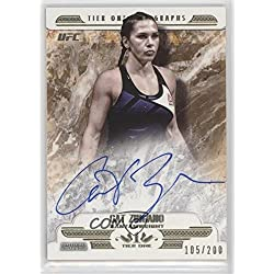 Cat Zingano #105/200 (Trading Card) 2017 Topps UFC Knockout - Tier One Autographs #T1A-CZ