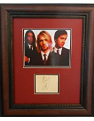 Kurt Cobain autograph