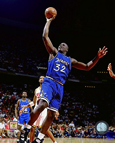 NBA Shaquille O'Neal Orlando Magic 1994-95 Action Photo (Size: 8