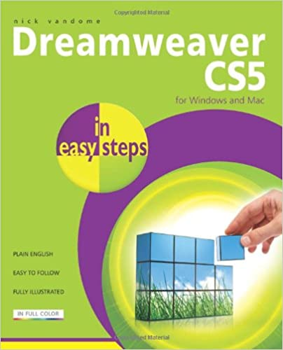 Book Dreamweaver CS5 In Easy Steps