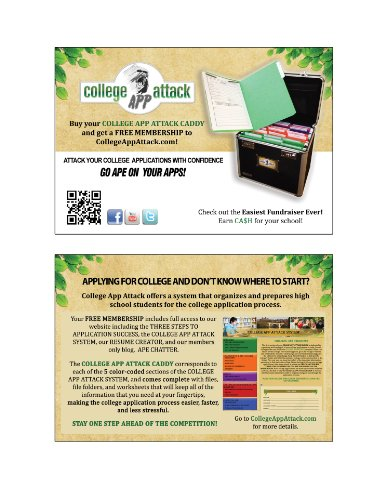 Amazon.com : College App Attack Caddy, including Free Membership ...