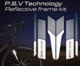 ATPC Japan Reflective Frame Kit A Set of Reflective Labels corresponding to All Kinds of Bicycle Frames Improve Safety of Night Driving of Road Bike, MTB, P.S.V Technology