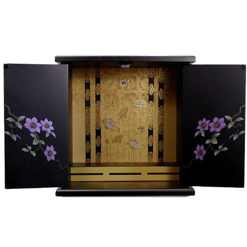 Japanese Buddhist Altar Butsudan (Small, Tessen) by Kuroshio
