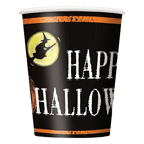 Ghostly Halloween 9Oz Cups (8 Pack) - Party Supplies