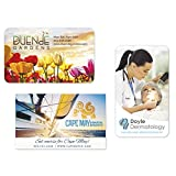 BIC BIC 30 Mil Jumbo 4-ColorProcess Business Card Magnet White 1000 Pack