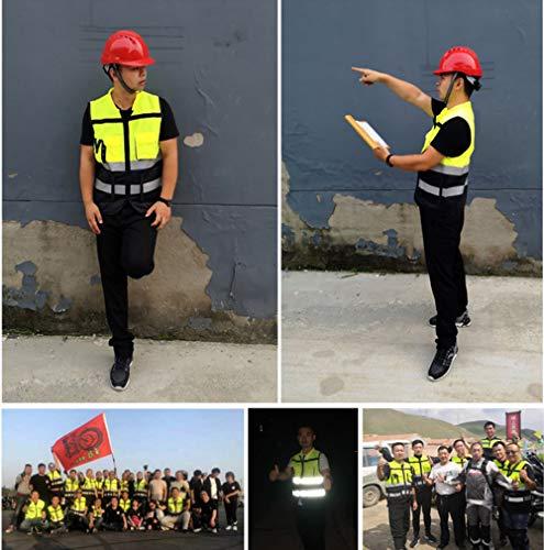GJDAC Chaleco Reflectante Vesta para Correr, Ciclismo, Ciclismo, el Mejor Equipo de Seguridad para Hombres y Mujeres 4